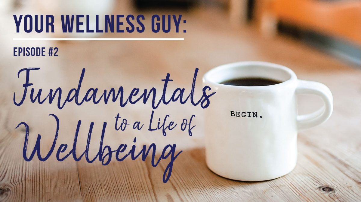 02: Fundamentals to a Life of Wellbeing